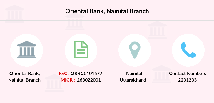 Oriental-bank-of-commerce Nainital branch