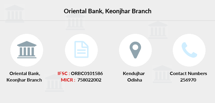 Oriental-bank-of-commerce Keonjhar branch