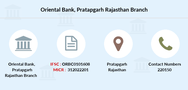Oriental-bank-of-commerce Pratapgarh-rajasthan branch