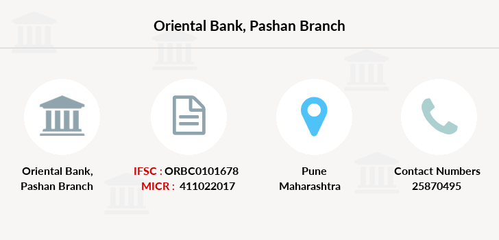 Oriental-bank-of-commerce Pashan branch