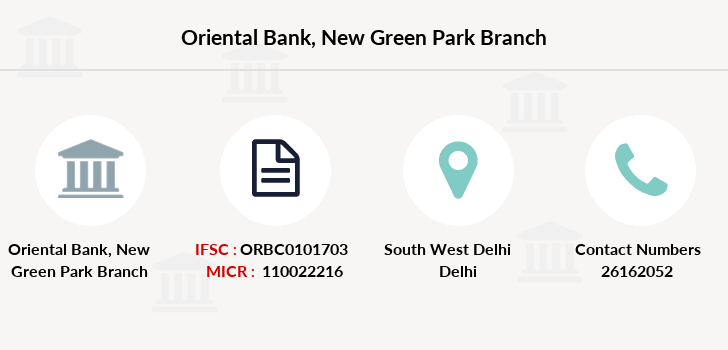 Oriental-bank-of-commerce New-green-park branch
