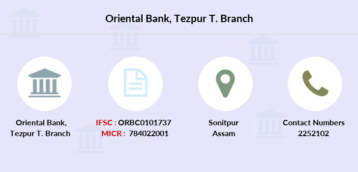 Oriental-bank-of-commerce Tezpur-t branch