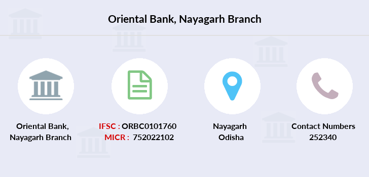 Oriental-bank-of-commerce Nayagarh branch