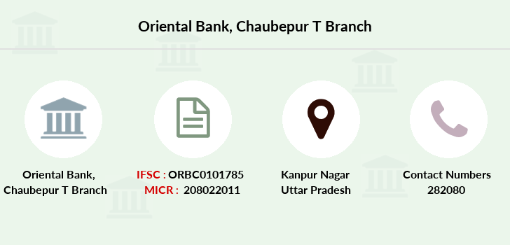 Oriental-bank-of-commerce Chaubepur-t branch
