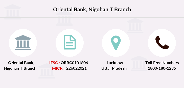 Oriental-bank-of-commerce Nigohan-t branch