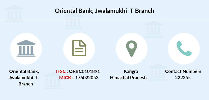Oriental-bank-of-commerce Jwalamukhi-t branch