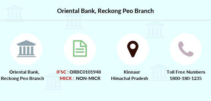 Oriental-bank-of-commerce Reckong-peo branch