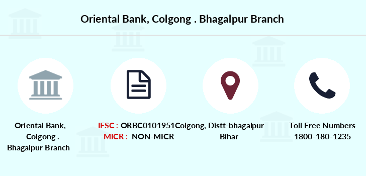 Oriental-bank-of-commerce Colgong-bhagalpur branch