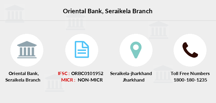 Oriental-bank-of-commerce Seraikela branch