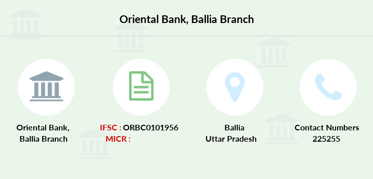 Oriental-bank-of-commerce Ballia branch