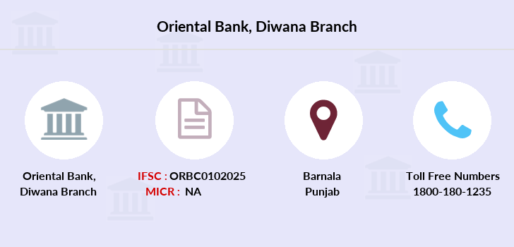 Oriental-bank-of-commerce Diwana branch