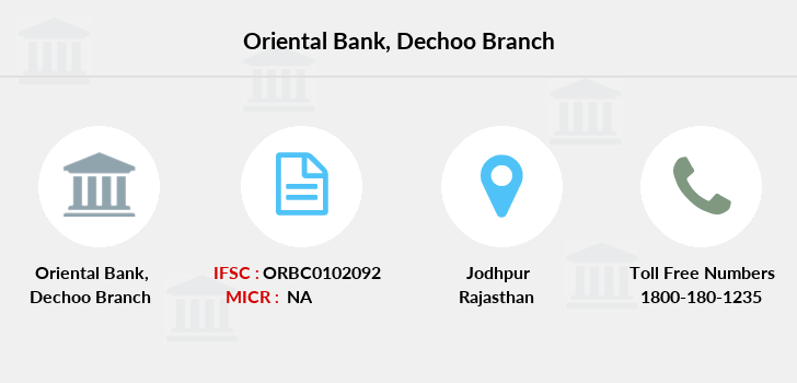 Oriental-bank-of-commerce Dechoo branch