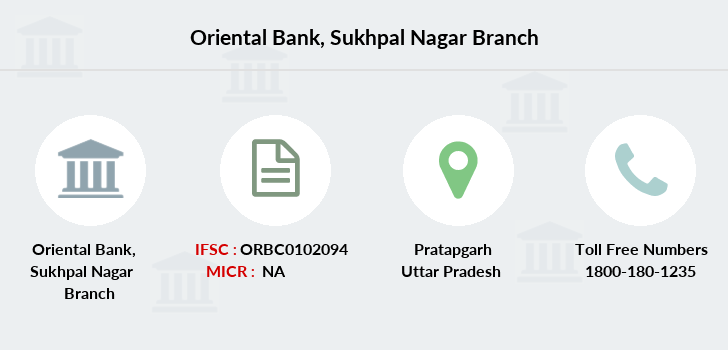Oriental-bank-of-commerce Sukhpal-nagar branch