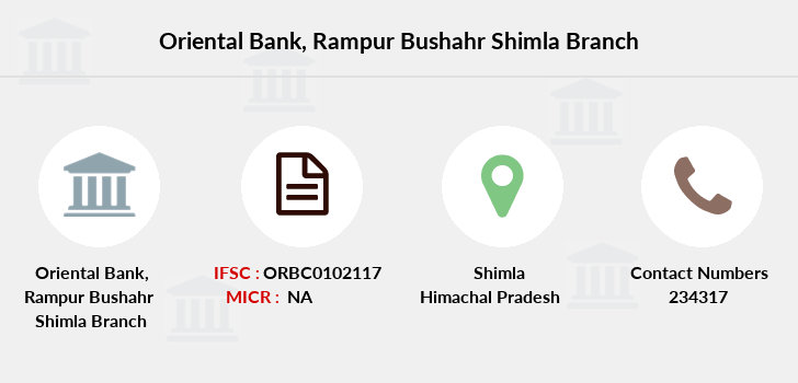Oriental-bank-of-commerce Rampur-bushahr-shimla branch