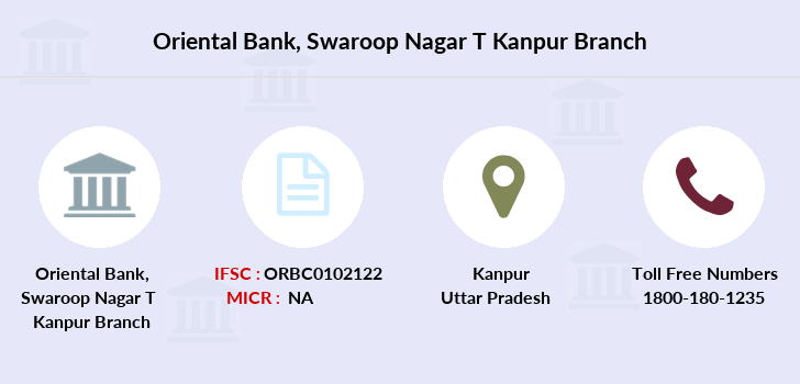 Oriental-bank-of-commerce Swaroop-nagar-kanpur branch