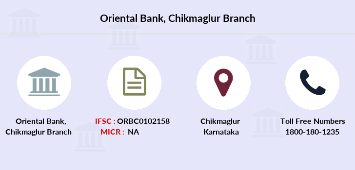 Oriental-bank-of-commerce Chikmaglur branch