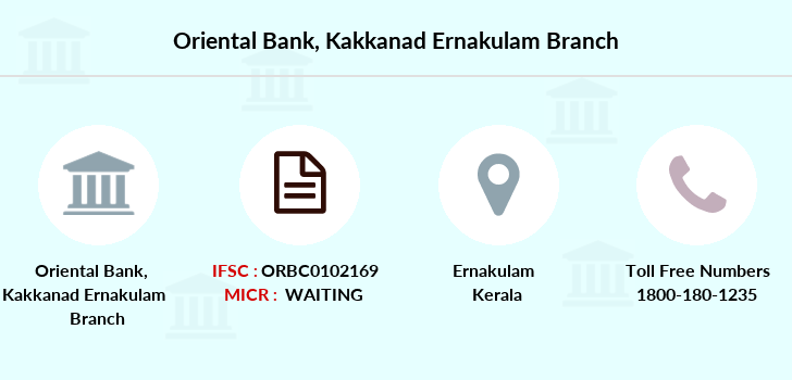 Oriental-bank-of-commerce Kakkanad-ernakulam branch