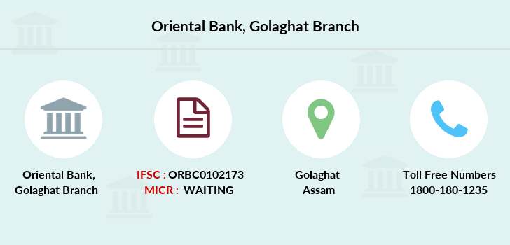 Oriental-bank-of-commerce Golaghat branch