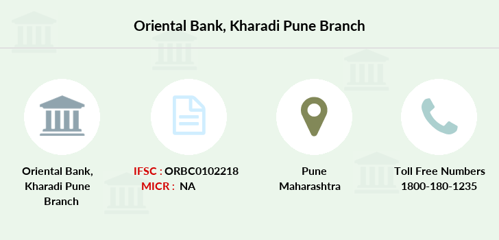 Oriental-bank-of-commerce Kharadi-pune branch