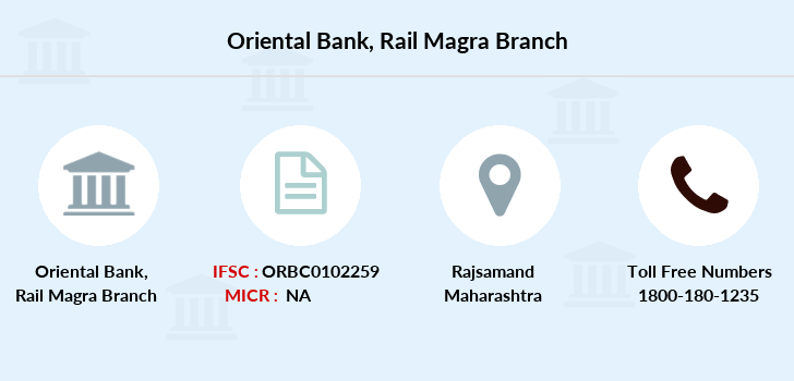 Oriental-bank-of-commerce Rail-magra branch
