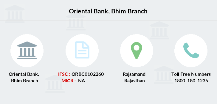 Oriental-bank-of-commerce Bhim branch