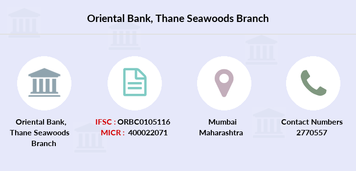 Oriental-bank-of-commerce Thane-seawoods branch