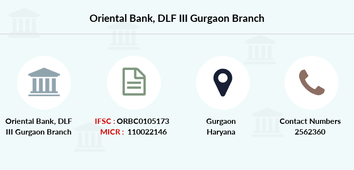 Oriental-bank-of-commerce Dlf-iii-gurgaon branch