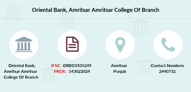 Oriental-bank-of-commerce Amritsar-amritsar-college-of branch