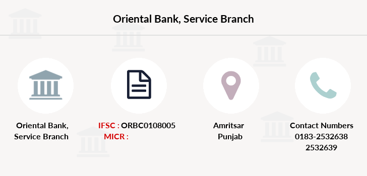 Oriental-bank-of-commerce Service branch
