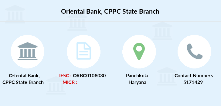 Oriental-bank-of-commerce Cppc-state branch