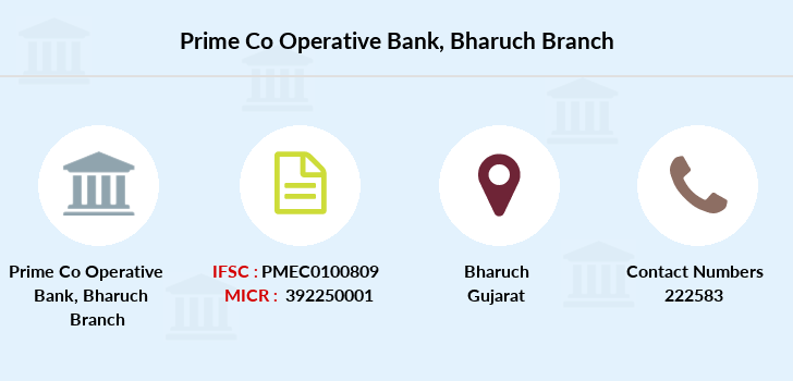 Prime-co-operative-bank Bharuch branch