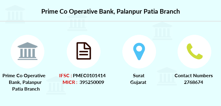 Prime-co-operative-bank Palanpur-patia branch