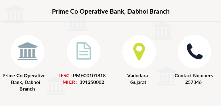 Prime-co-operative-bank Dabhoi branch