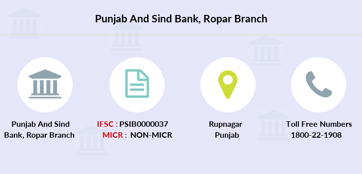 Punjab-and-sind-bank Ropar branch