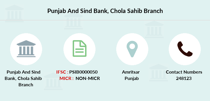 Punjab-and-sind-bank Chola-sahib branch
