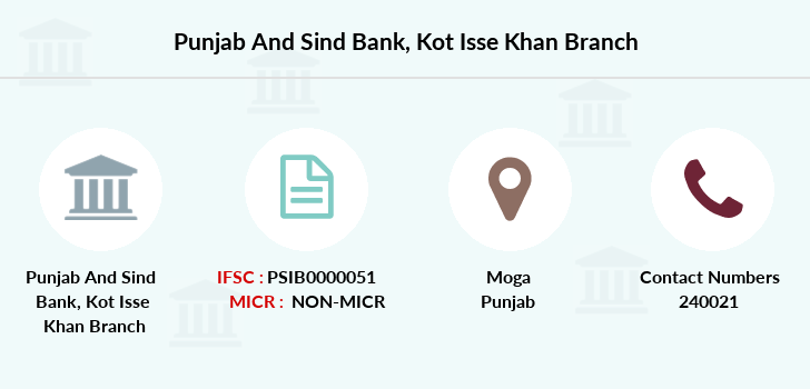 Punjab-and-sind-bank Kot-isse-khan branch