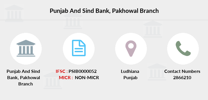 Punjab-and-sind-bank Pakhowal branch