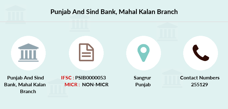 Punjab-and-sind-bank Mahal-kalan branch