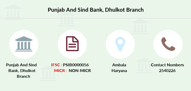 Punjab-and-sind-bank Dhulkot branch