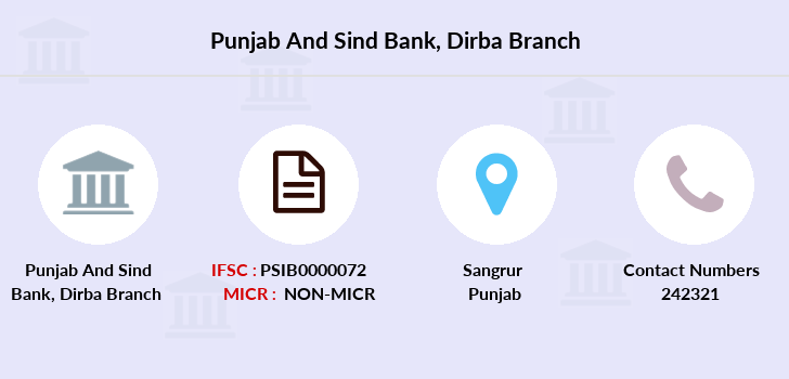 Punjab-and-sind-bank Dirba branch