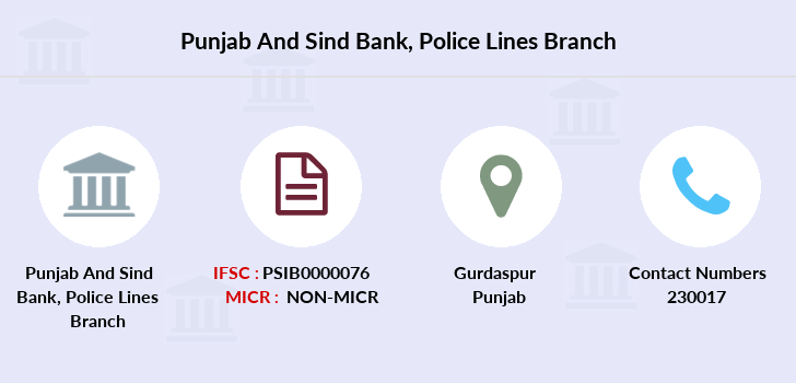 Punjab-and-sind-bank Police-lines branch