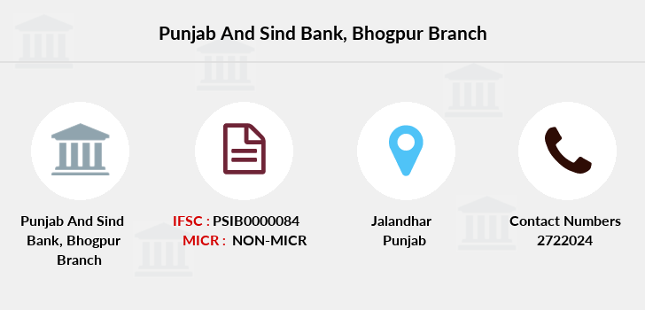 Punjab-and-sind-bank Bhogpur branch