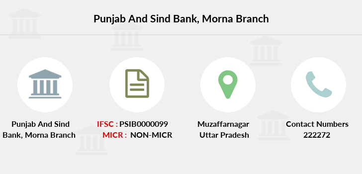 Punjab-and-sind-bank Morna branch