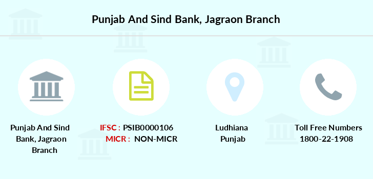 Punjab-and-sind-bank Jagraon branch