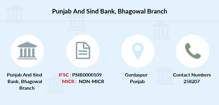 Punjab-and-sind-bank Bhagowal branch