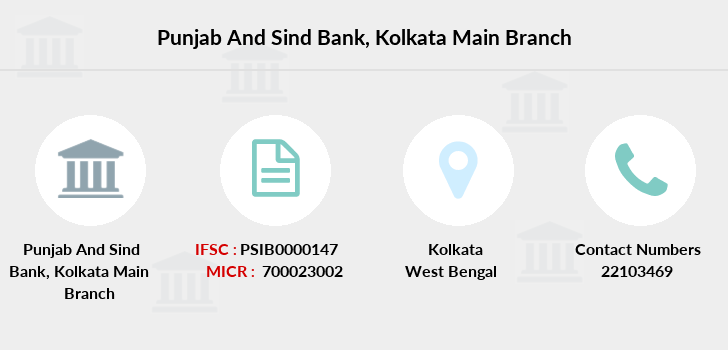 Punjab-and-sind-bank Kolkata-main branch
