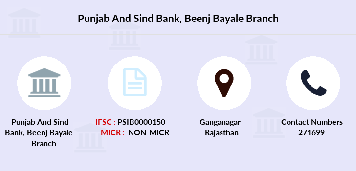 Punjab-and-sind-bank Beenj-bayale branch