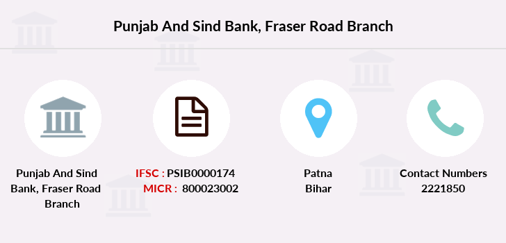 Punjab-and-sind-bank Fraser-road branch
