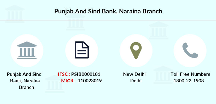 Punjab-and-sind-bank Naraina branch