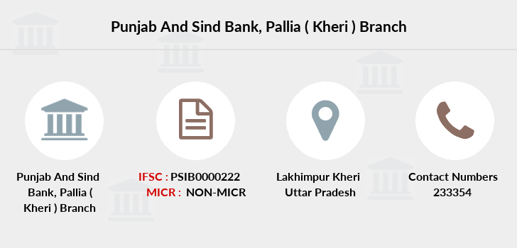 Punjab-and-sind-bank Pallia-kheri branch